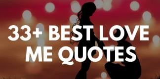 best love me quotes & sayings