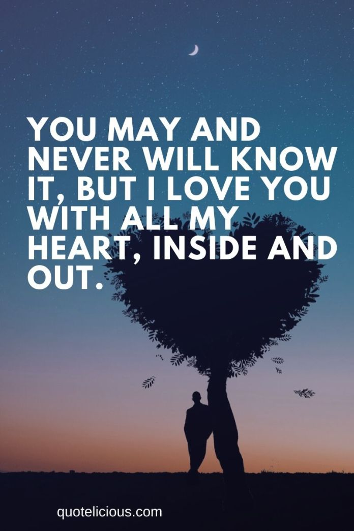 31 Inspiring Secret Love Quotes Sayings From The Heart