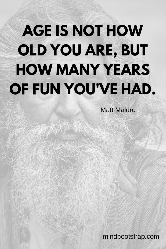 Funny old age quotes on birthday