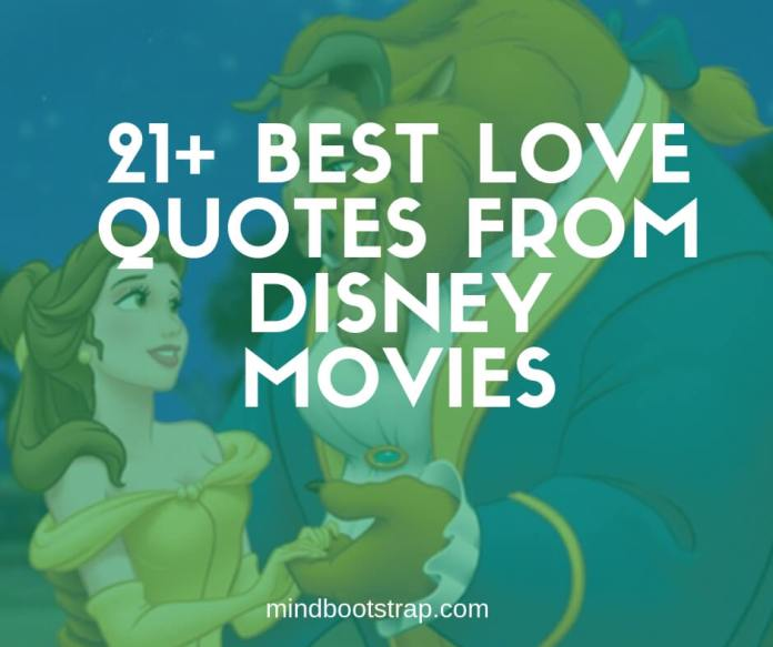 Best Disney love quotes and sayings