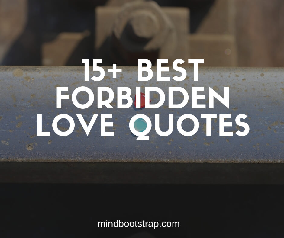 15+ Inspiring Forbidden Love Quotes and Sayings