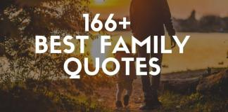 best family quotes and sayings