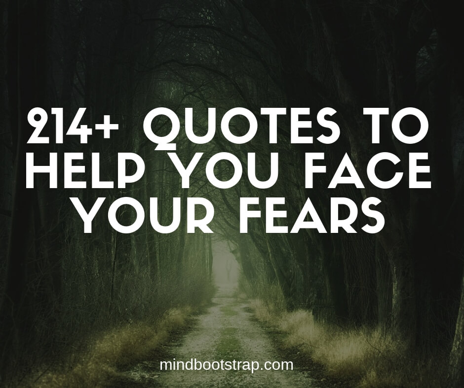 Inspirational Quotes and Sayings about Fear