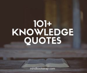 best knowledge quotes and sayings