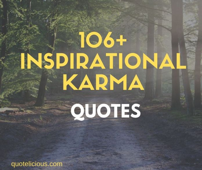 Karma quotes and sayings