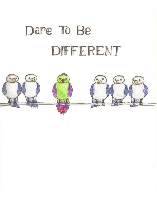 Dare To Be Different Quotes : different, quotes, Quotes, About, Different, Quotes)