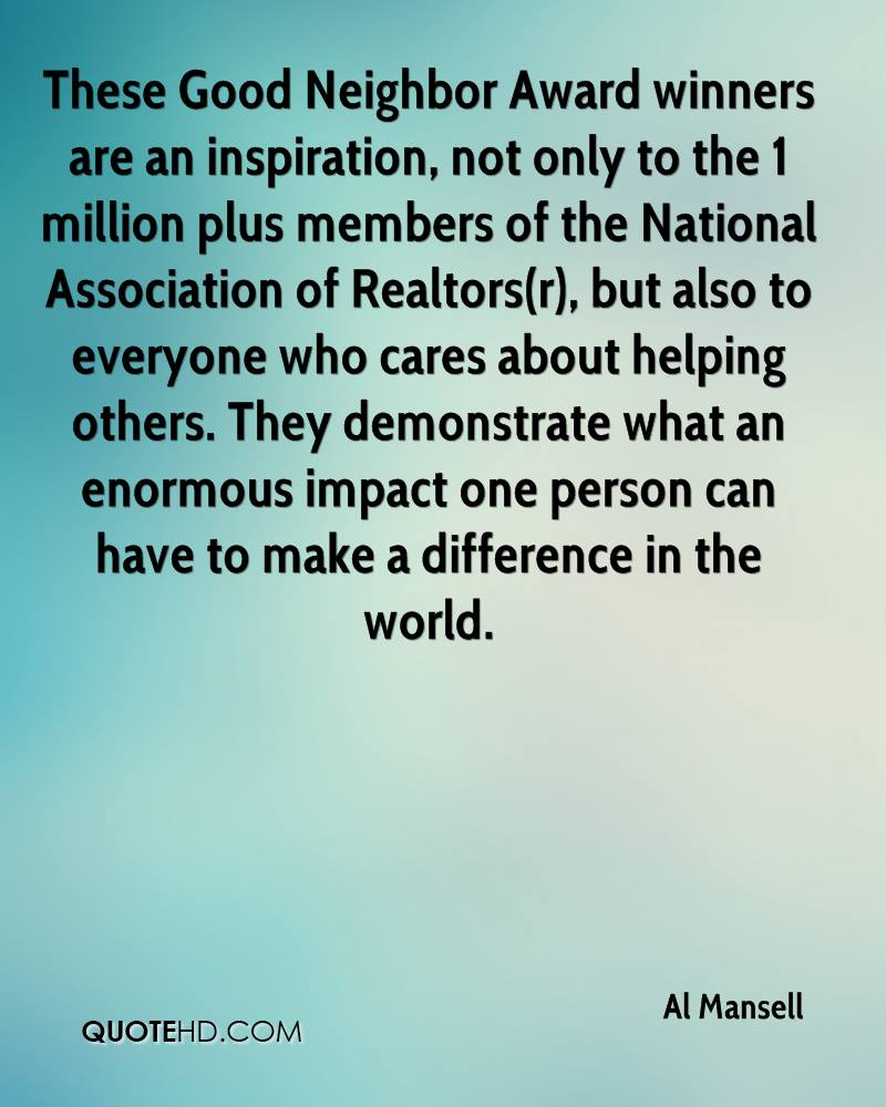 Being A Good Neighbor Quotes : being, neighbor, quotes, Quotes, About, Neighbors, Quotes)