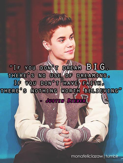 Justin Bieber Quote : justin, bieber, quote, Quotes, About, Believe, Justin, Bieber, Quotes)