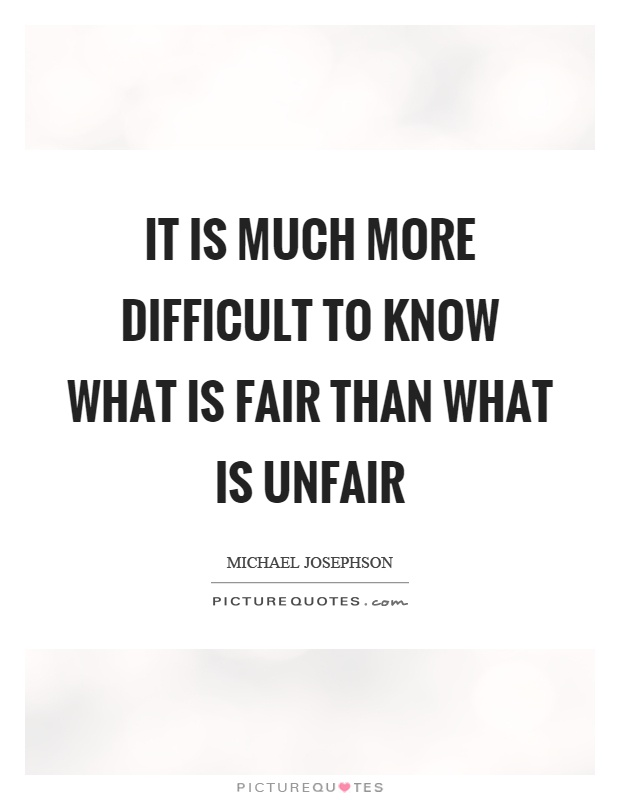Unfair Quotes : unfair, quotes, Quotes, About, Unfair, Fights, Quotes)