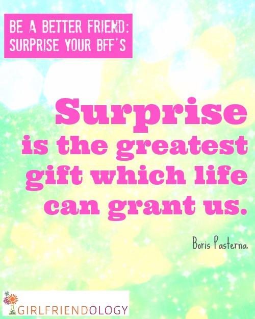 Surprise Gift Quotes : surprise, quotes, Quotes, About, Surprise, Quotes)