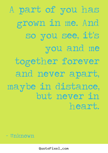 Love Quotes Distance Apart