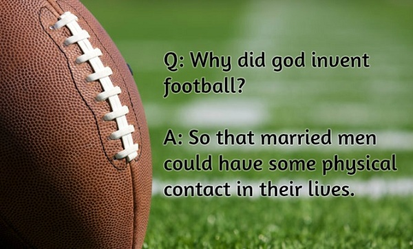 American Football Jokes Bring A Laugh To The Next Game