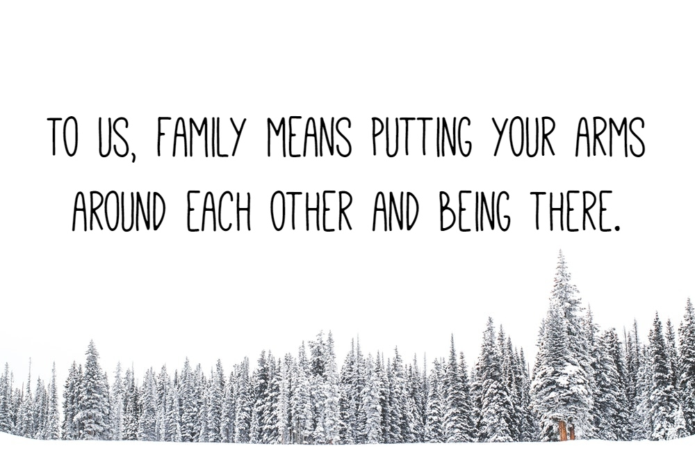 family love quotes text