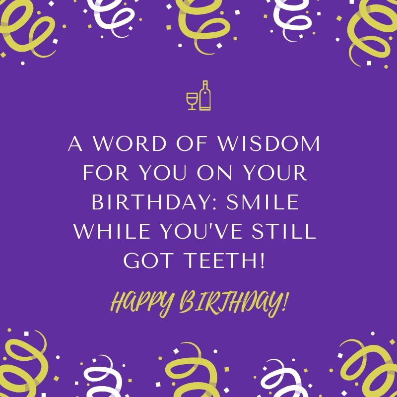 Birthday Joke 20 QuoteReel