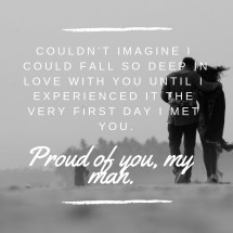 Proud Of Husband Quotes Text Quotereel - Exploring Mars