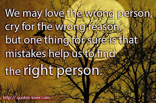 Image result for quotes about finding the right person