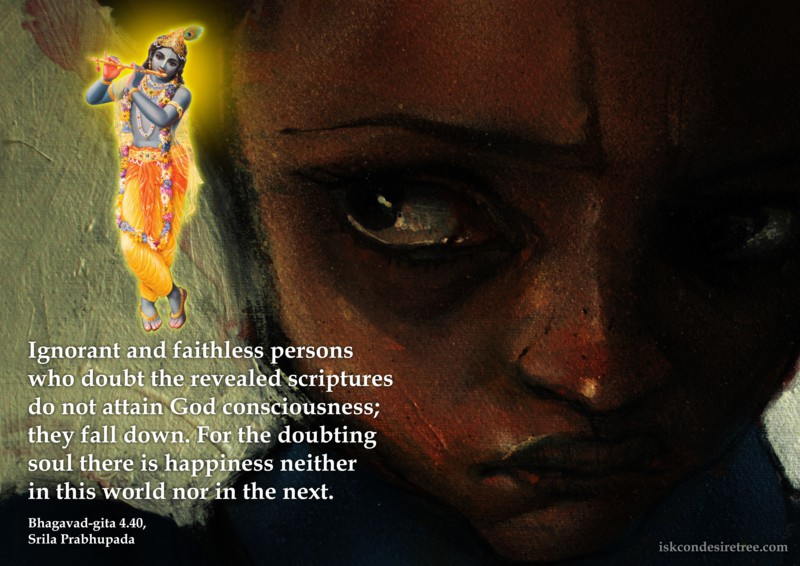 Bhagavad Gita Quotes In Tamil Wallpaper Doubting Soul Spiritual Quotes By Iskcon Desire Tree