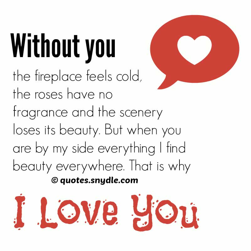 You And Me Love Quotes