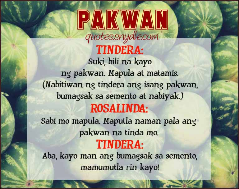 Pinoy Jokes  Quotes and Sayings