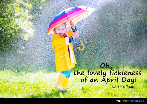 Quote on The Lovely Fickleness of April Goals post