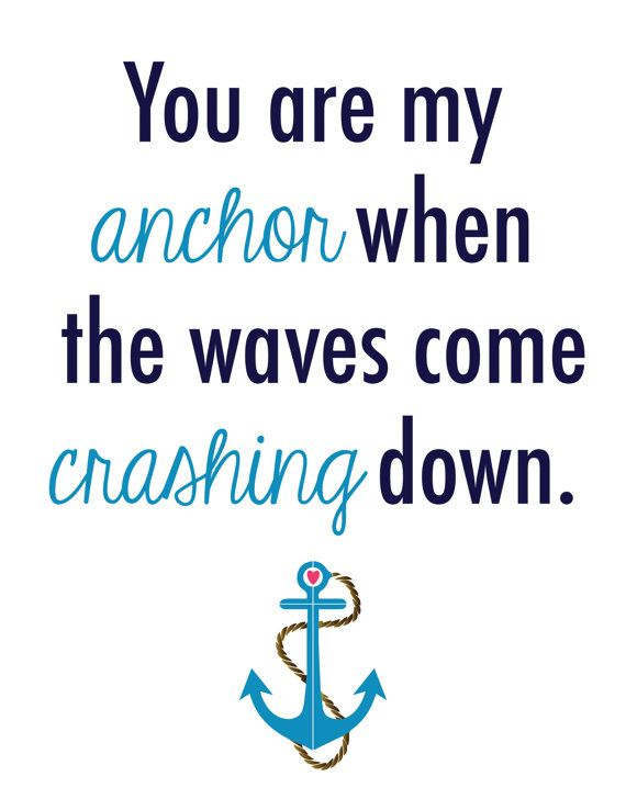 Anchor Love Quotes Endearing Anchor Love Quotes Sayings & Pictures  Quotesbae