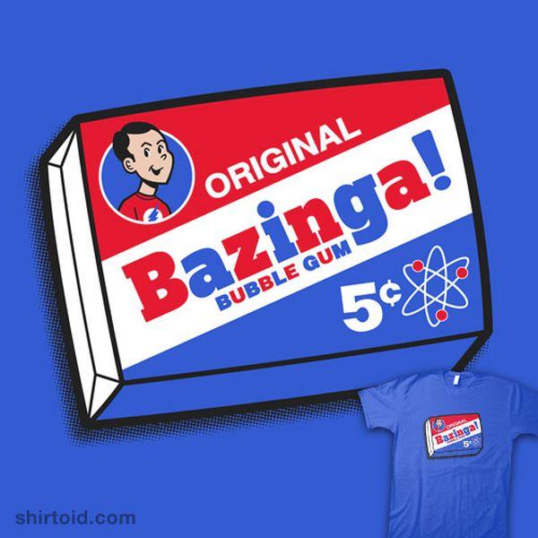 Bazinga origin photos