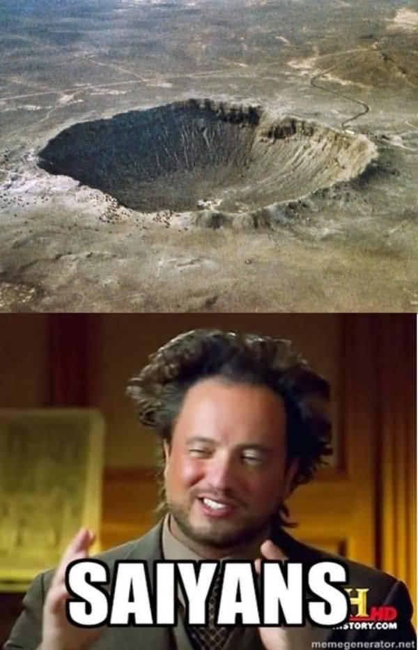 Cool because aliens meme joke
