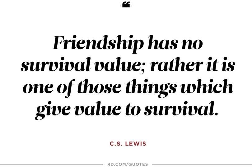Cs Lewis Quote About Friendship Amusing 20 Cs Lewis Quote About Friendship Love And Life  Quotesbae