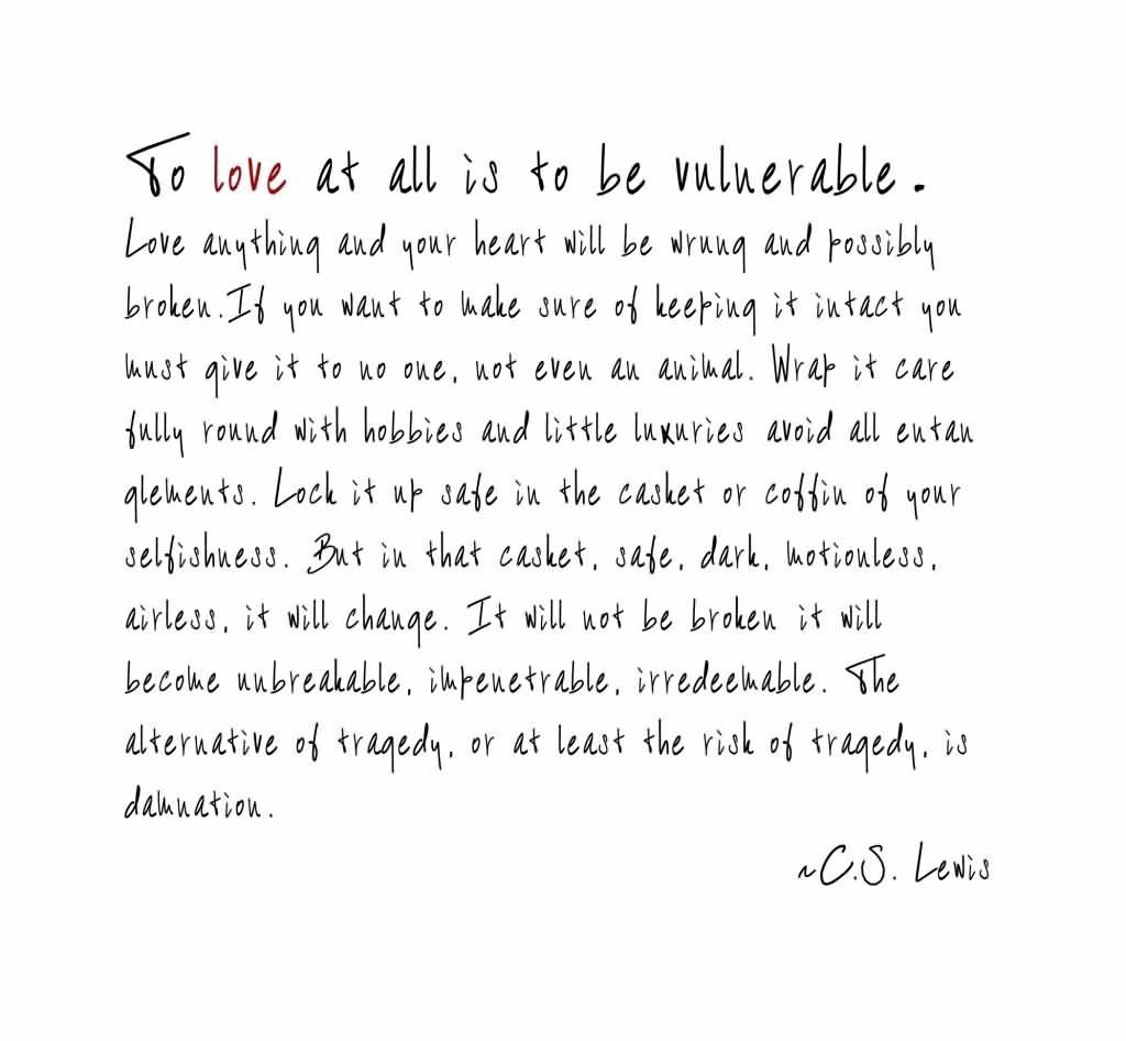 Cs Lewis Quotes On Life Cs Lewis Quotes On Love 18  Quotesbae