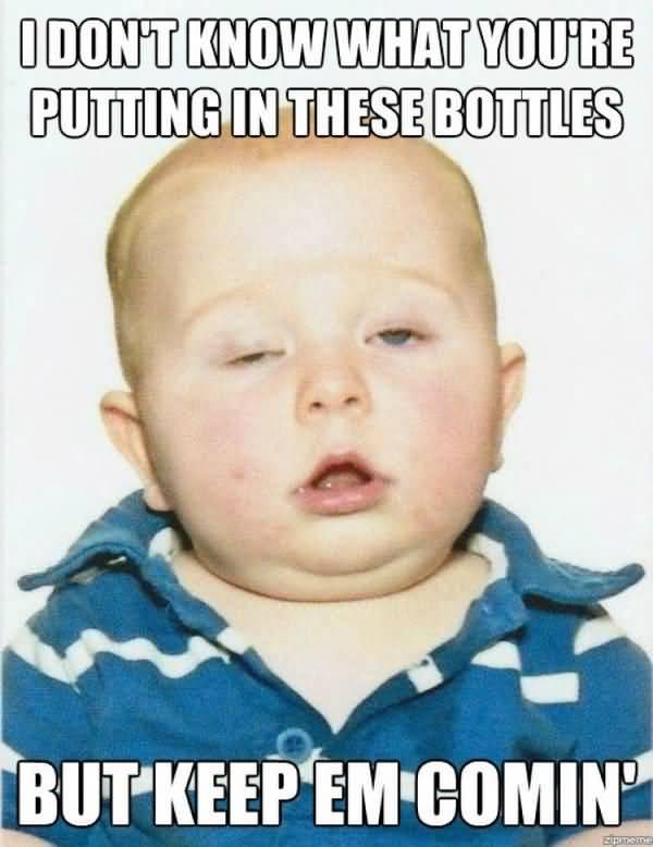 Funny drunk face meme Picture