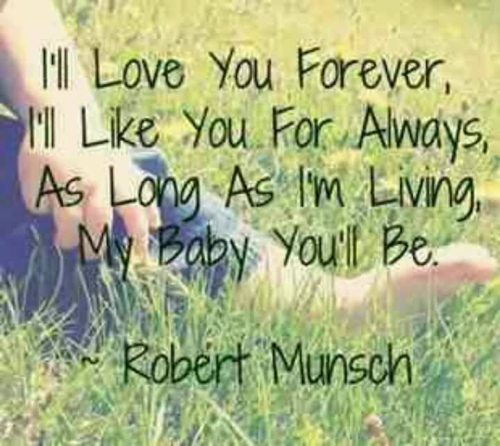 I Ll Love You Forever Book Quotes Fascinating I Ll Love You Forever Book Quotes 19  Quotesbae