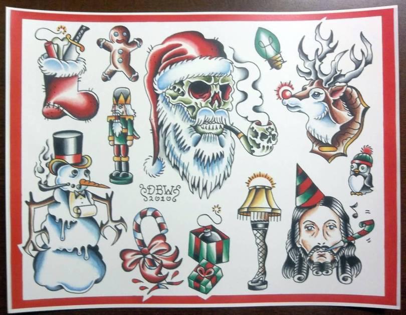 Christmas Tattoo Design Ideas Image Picture Photo 01