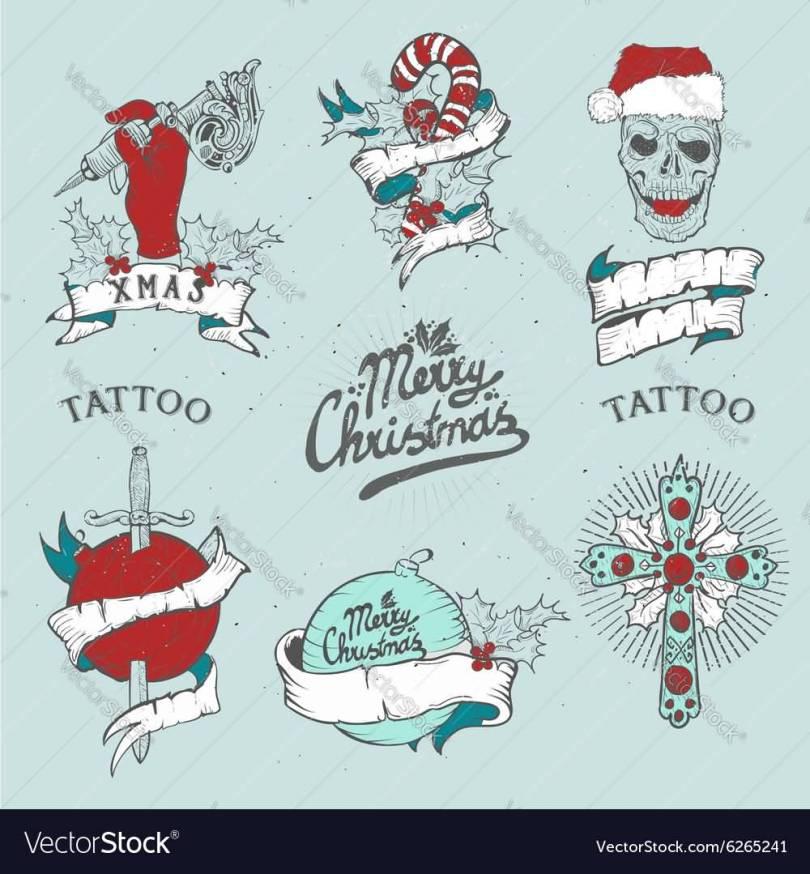 Christmas Tattoo Design Ideas Image Picture Photo 05