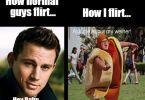 Funny flirty memes for guys picture