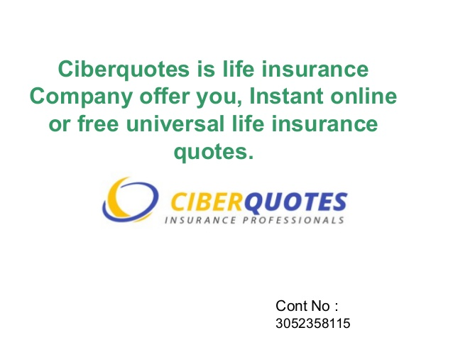 Universal Life Insurance Quotes Online Instant Custom 20 Instant Online Life Insurance Quote And Pictures  Quotesbae
