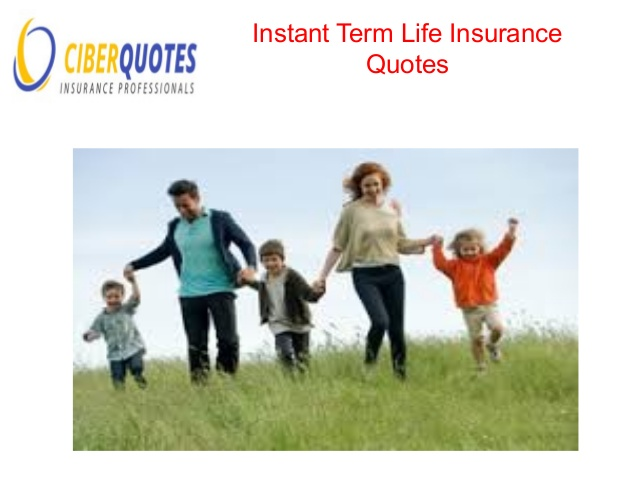 Instant Term Life Insurance Quotes 01