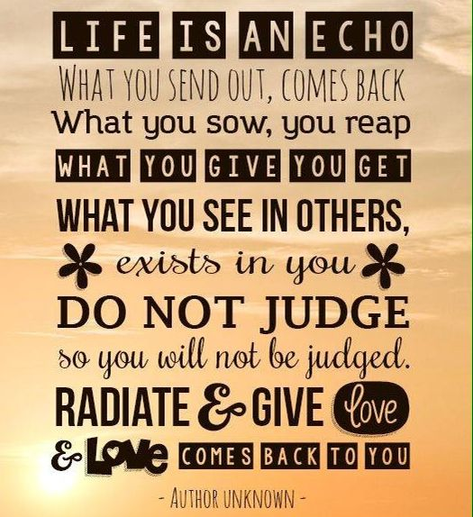 Life Is An Echo Quote Interesting Life Is An Echo Quote 19  Quotesbae