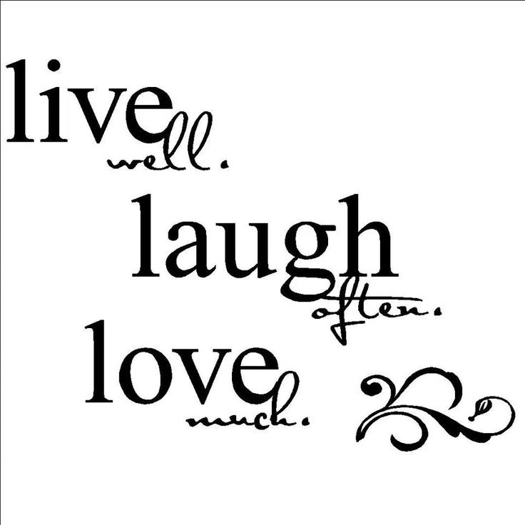 Live Laugh Love Quote Beauteous Live Laugh Love Quote 17  Quotesbae