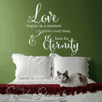 20 Love Quotes Wall Decals Sayings Images & Pics | QuotesBae