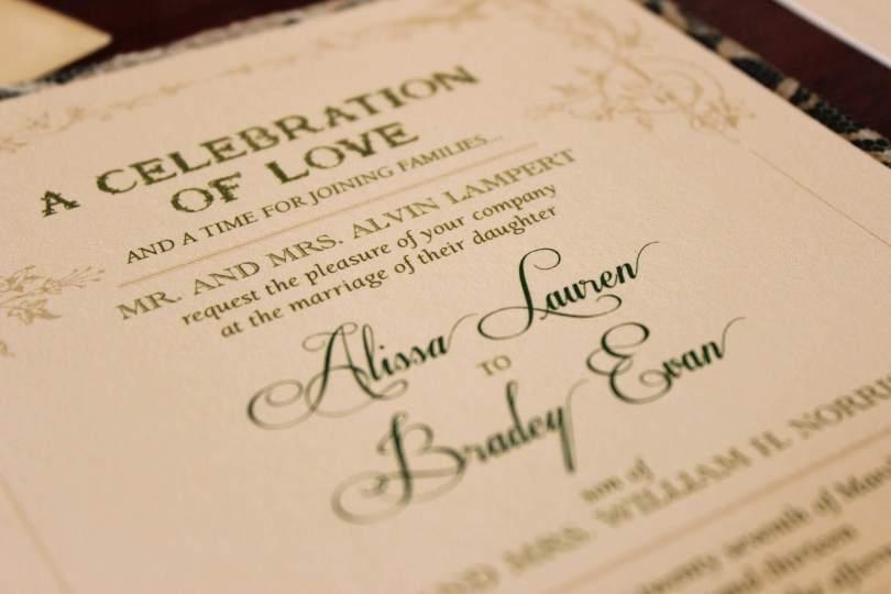 Love Quotes Wedding Invitation 02