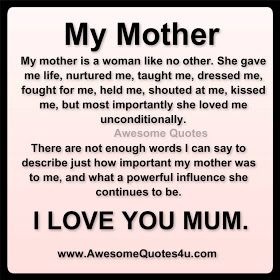 Love You Mommy Quotes Inspiration Love You Mommy Quotes 04  Quotesbae