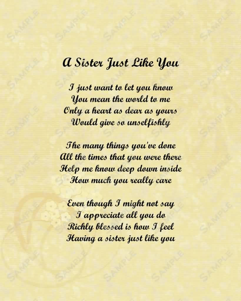 Best Love You Sister Quotes Nice Ideas