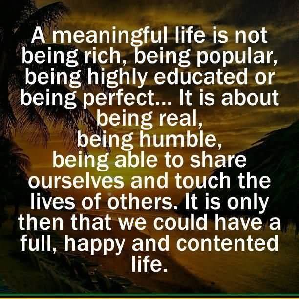 Meaningful Life Quotes Prepossessing Meaningful Life Quotes 04  Quotesbae