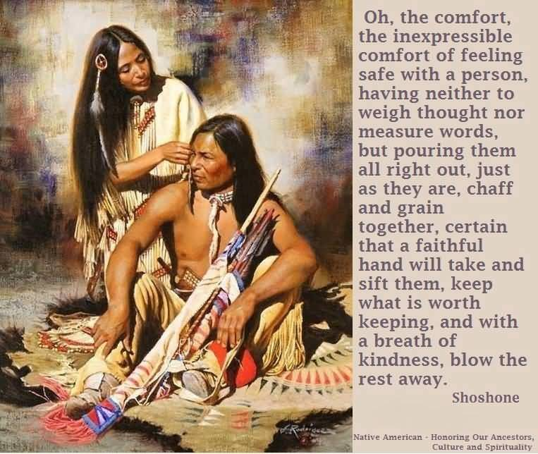 Native American Love Quotes Best Native American Love Quotes 08  Quotesbae
