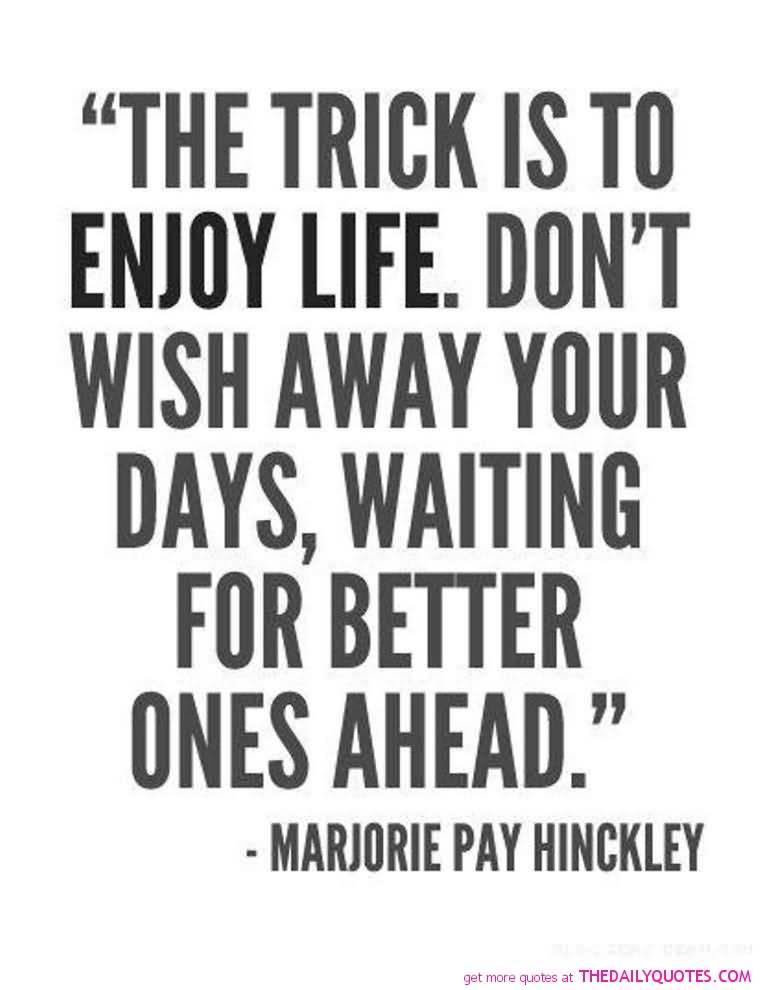 Enjoying Life Quotes Inspiration Quotes About Enjoying Life 01  Quotesbae