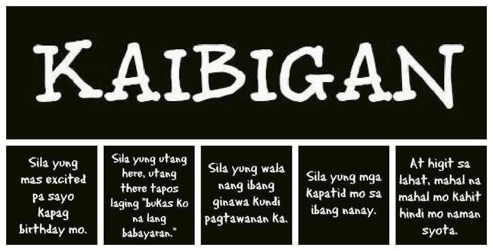 Tagalog Quotes About Friendship Entrancing Quotes About Friendship Tagalog 11  Quotesbae