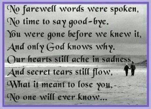 Quotes About Losing A Loved One Too Soon Entrancing Quotes About Losing A Loved One Too Soon 10  Quotesbae