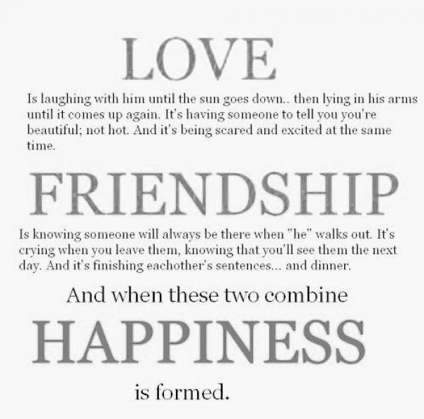 Wonderful Quotes About Love And Friendship And Happiness 03 Design Ideas