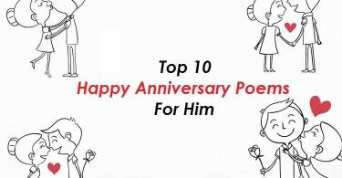 Top 10 Happy Anniversary Poems For Him