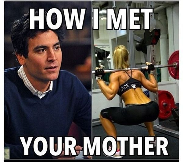 Very funny motivational memes how i met your mother joke